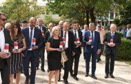 U Posušju svečano proslavljena 25. obljetnica osnutka Udruge dragovoljaca i veterana Domovinskog rata HVO HB