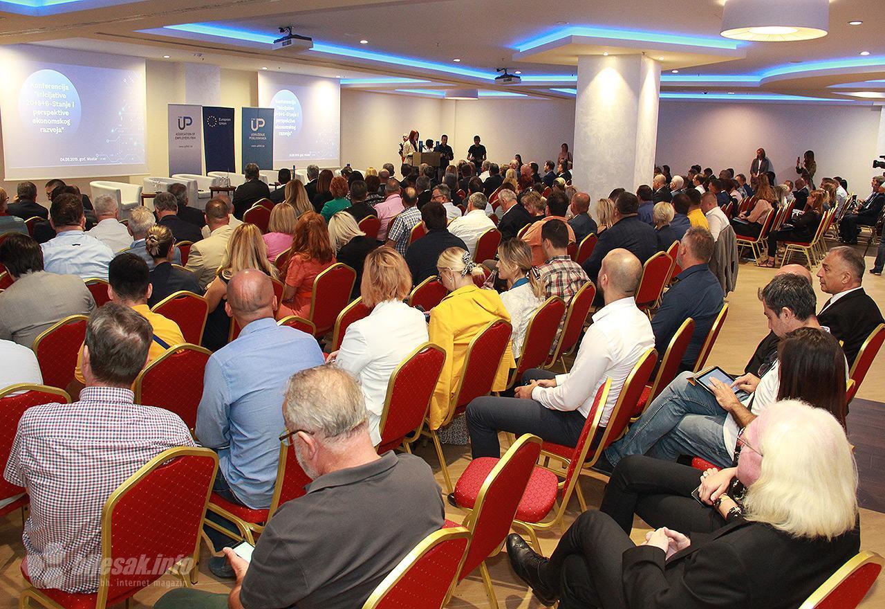 """U Mostaru održana konferencija """"Inicijativa 20+5+6 – Stanje i perspektive ekonomskog razvoja"""""""