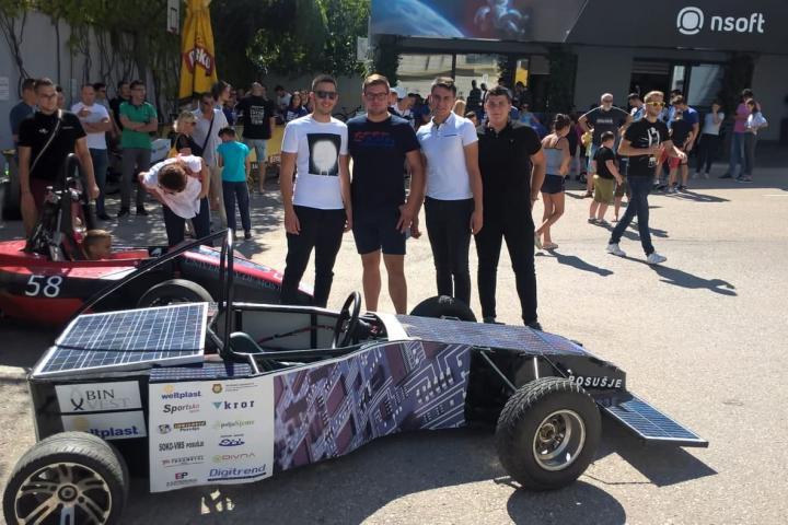 Automobil iz Posušja na sajmu novih tehnologija