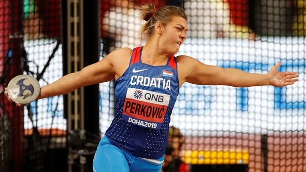 Sandra Perković brončana na Svjetskom prvenstvu, Kubanke Perez i Caballero ove godine prejake