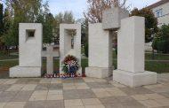 Položen vijenac za poginule hrvatske branitelje