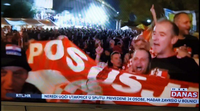 [VIDEO] Veseli Posušani uz RTL-ovog novinara prenijeli atmosferu iz Splita