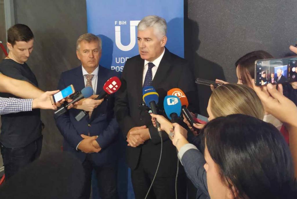 Čović danas održao sastanak s gospodarstvenicima