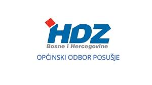OO HDZ BiH Posušje dao potporu Predsjednici RH u osudi izjava Željka Komšića