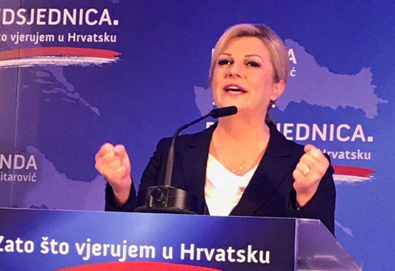"""Grabar-Kitarović objavila kandidaturu: """"Kandidiram se ponovno jer vjerujem u Hrvatsku"""""""
