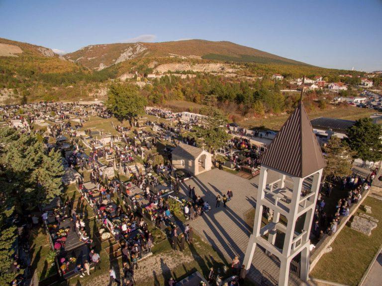 [FOTO] Blagdan Svih svetih proslavljen u Posušju