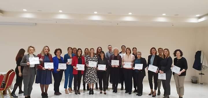 "ČLANICE ZŽ HDZ BIH ""KKK"": Uspješno završen Trening za trenerice o ravnopravnosti spolova"