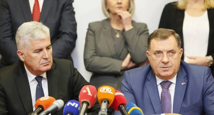 Završen sastanak u Mostaru: Čović i Dodik se slažu u svemu, osim u optimizmu