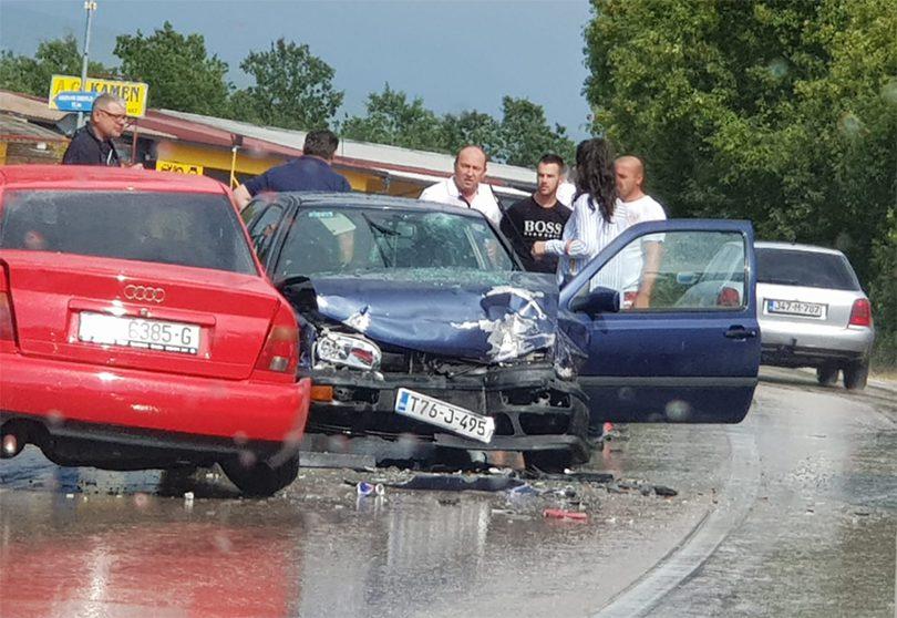 MUP ŽZH: 17 prometnih nezgoda ovoga vikenda