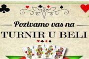 U Domu kulture Trebižat turnir u Beli s nagradnim fondom od dvije tisuće KM