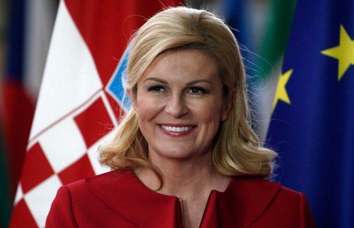 Kolinda Grabar Kitarović danas u Imotskom