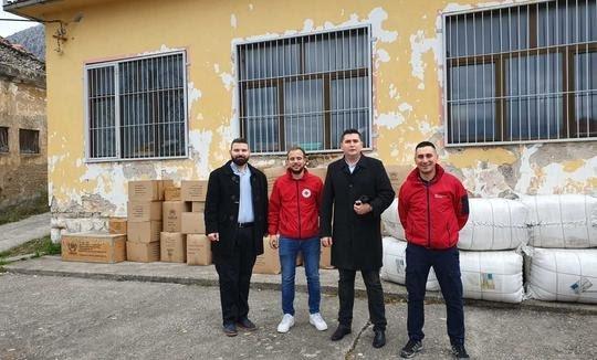 Crveni križ ŽZH dobio vrijednu donaciju od Crvenog križa Zagreba