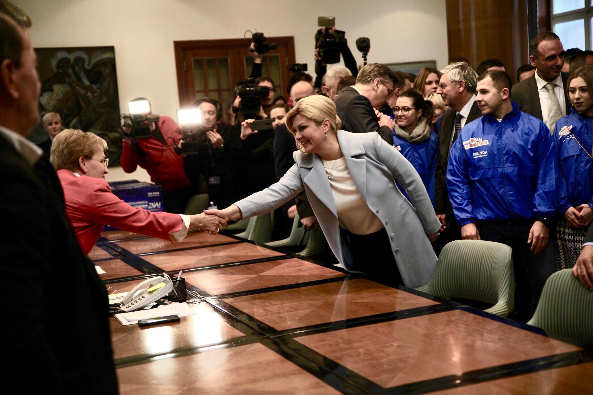 Predsjednica Kolinda predala više od 231.000 potpisa