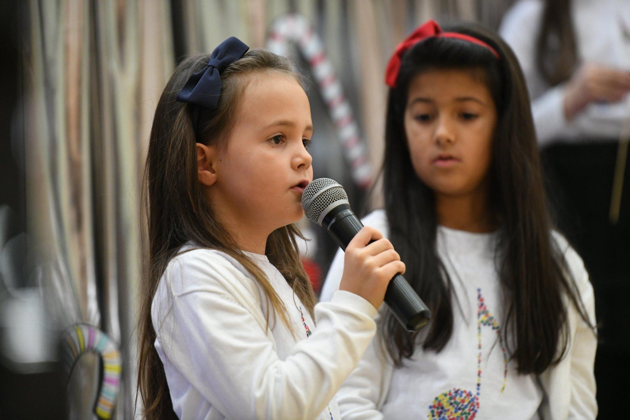 """FOTO: Božićna priredba glazbenog vrtića """"Posušje"""""""