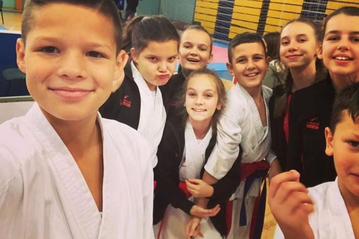 Karate: Šest odličja za KK Posušje u 4. kolu regionalne karate lige