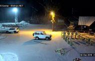 Prelijepa zimska večer, snijeg zabijelio Blidinje