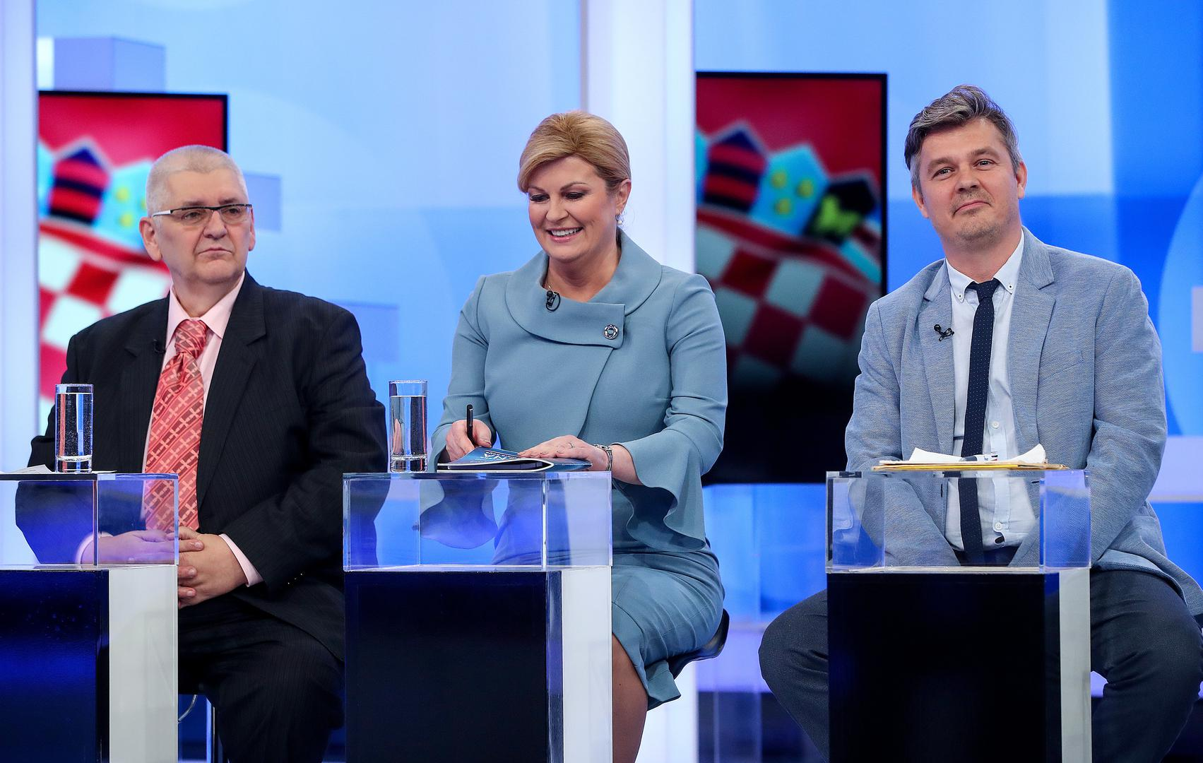 ANALITIČARI KOMENTIRALI NASTUPE KANDIDATA: 'Sučeljavanje najbolje iskoristili Grabar-Kitarović i Milanović, a potom Peović'