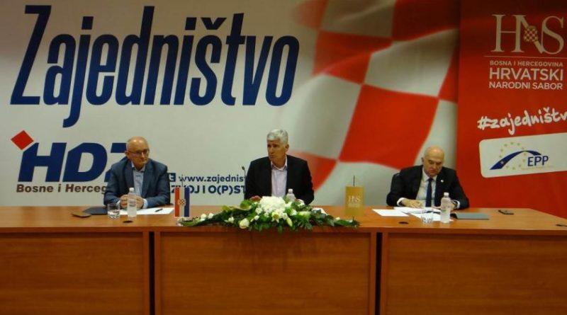 HNS odgovorio Izetbegoviću: Napad na Hrvate napad je na domovinu BiH