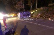 Jedna osoba ozlijeđena u prevrtanju automobila kod Kočerina