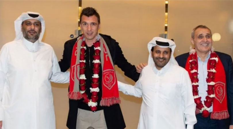 Mario Mandžukić predstavljen u Kataru: Novo poglavlje u mojoj karijeri