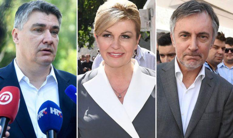 Prvi rezultati: Milanović sigurno u drugom krugu, Grabar-Kitarović ima veću prednost nad Škorom