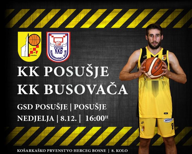 Košarkaši u prvenstvu dočekuju Busovaču, a u kupu Zrinjski