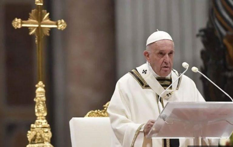 Božićna poruka pape Franje