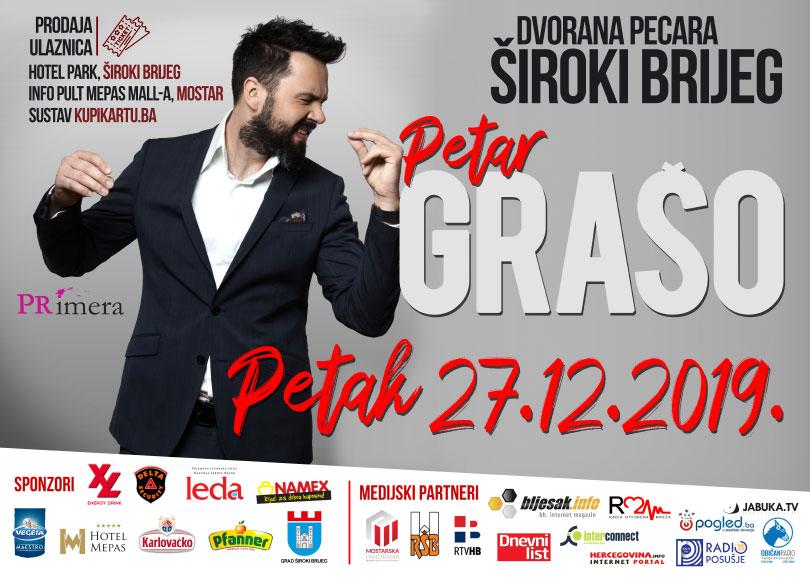 Veliko zanimanje za koncert Petra Graše u Širokom Brijegu
