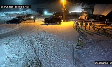Blidinje pod snijegom