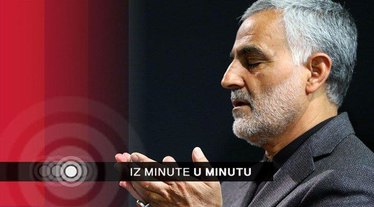 SAD ubio najmoćnijeg iranskog generala, Trump sve naredio. Iran najavio rat