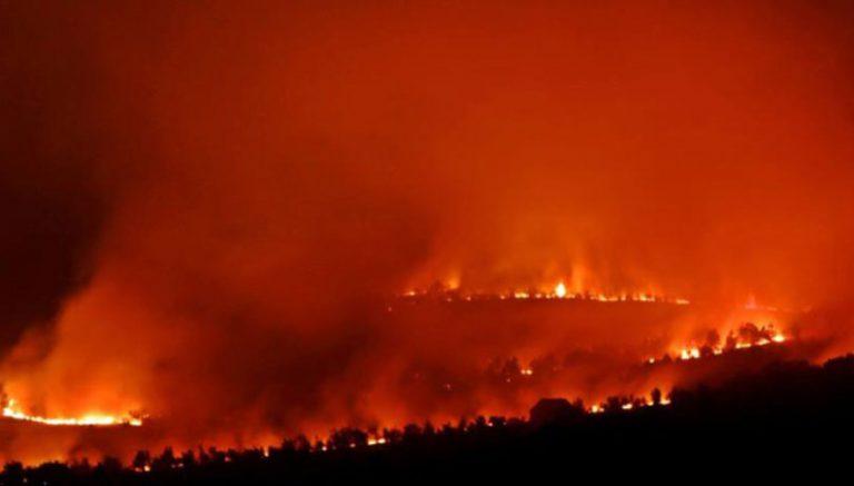 Sinoć veliki požar između Imtoskog i Posušja