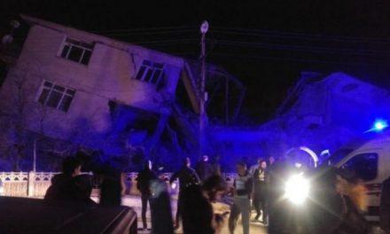 Jak potres pogodio Tursku: Ima mrtvih, urušile se zgrade