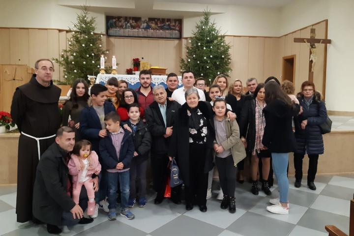 Ruža i Ljubo Bašić proslavili 50 godina braka
