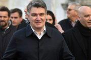 Inauguracija Milanovića na Pantovčaku, bez garde, straže i predsjedničke lente