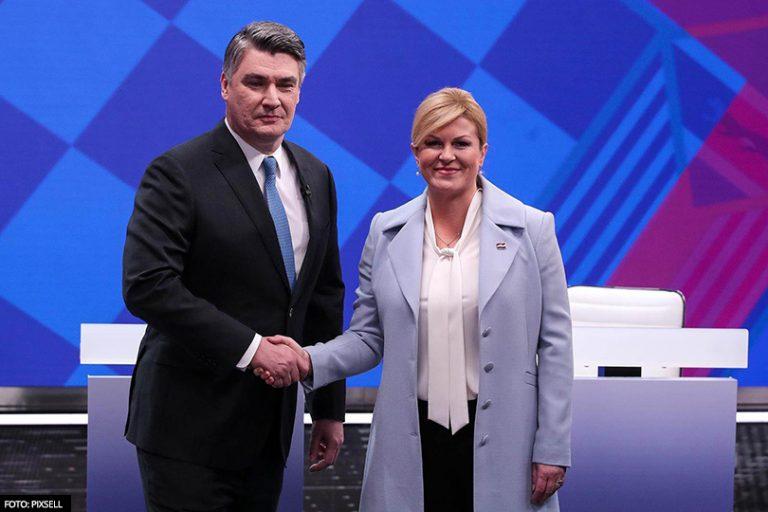 IZLAZNE ANKETE: Zoran Milanović osvaja 53,25 posto glasova, Kolinda Grabar-Kitarović 46,75 posto