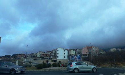 Danas oblačno vrijeme, u Posušju 8 stupnjeva!