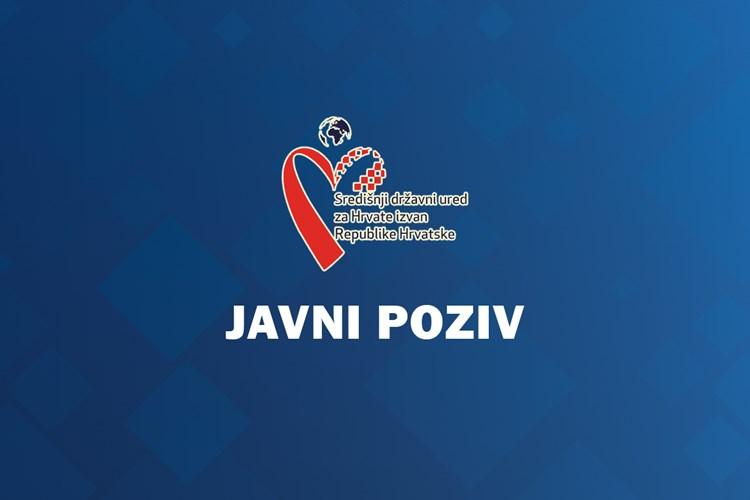1. Javni poziv za prijavu posebnih potreba i projekata od interesa za Hrvate izvan Republike Hrvatske u svrhu ostvarenja financijske potpore za 2020. godinu