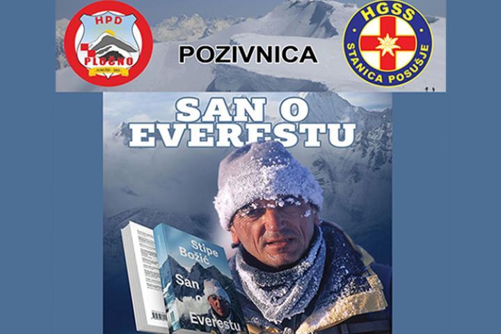 Proslavljeni hrvatski alpinist Stipe Božić dolazi u Posušje