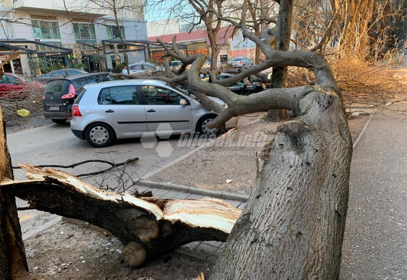 FOTO: Mostar nakon jake bure