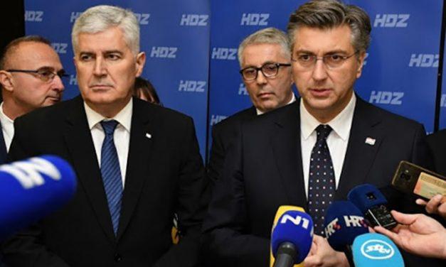 Sastali se Čović i Plenković: Herceg Bosna je nestala kako bi Hrvatska danas bila u ovim povijesnim granicama