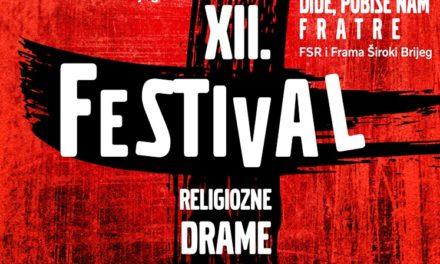 XII. Festival religiozne drame – Posušje 2020.
