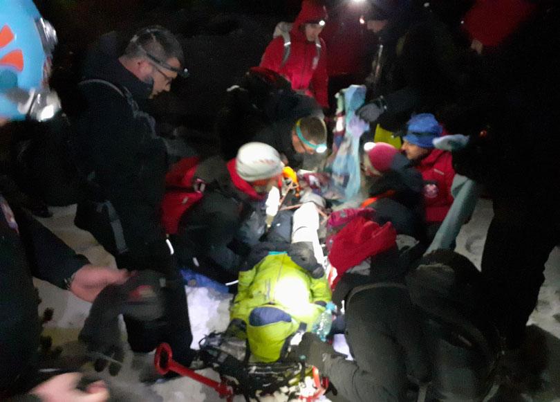 Spašen alpinist na Čvrsnici: Pronašli ga timovi GSS-a iz Jablanice, Posušja i Širokog Brijega