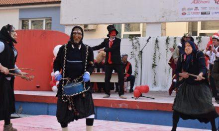 [FOTO] 22.Ljubuški karneval: Marko Karneval (Majka Korupcija) osuđen na smrt spaljivanjem