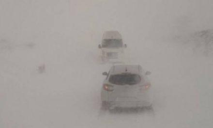 Zbog snijega i vjetra zatvorena cesta Prozor-Tomislavgrad