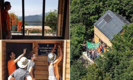 Na vrh Velebita teglili daske i sagradili super planinarski dom