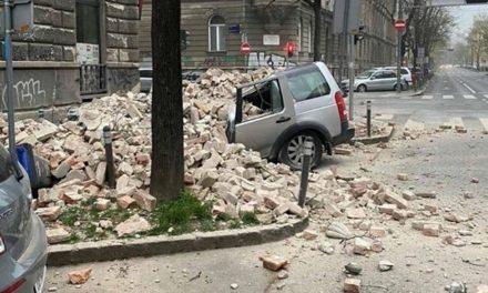 POTRESI U ZAGREBU: Rušili se zidovi, dijelovi bez struje, otpao vrh katedrale