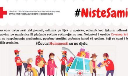 Crveni križ općine Posušje pomaže potrebitima