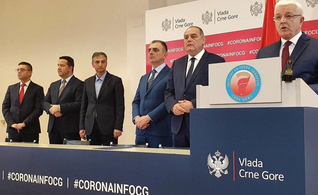 PREMIJER OBJAVIO: U Crnoj Gori prva dva slučaja zaraze koronavirusom