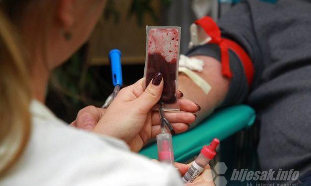 Posušje: Akcija dobrovoljnog darivanja krvi