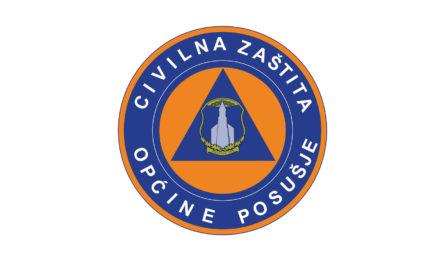 27.03.2020.: STOŽER CIVILNE ZAŠTITE OPĆINE POSUŠJE – Policija u ovim kriznim vremenima obavlja veliki posao